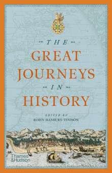 Robin Hanbury-Tenison: The Great Journeys in History, Buch