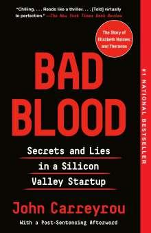 John Carreyrou: Bad Blood, Buch