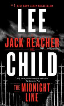 Lee Child: The Midnight Line, Buch