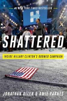 Jonathan Allen: Shattered, Buch
