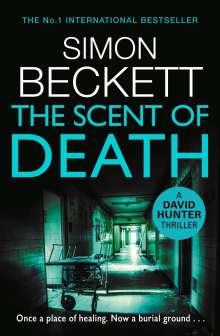 Simon Beckett: The Scent of Death, Buch