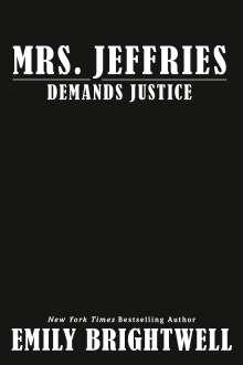 Emily Brightwell: Mrs. Jeffries Demands Justice, Buch