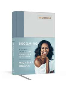 Michelle Obama: Becoming: A Guided Journal for Discovering Your Voice, Diverse