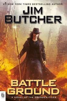 Jim Butcher: Battle Ground, Buch
