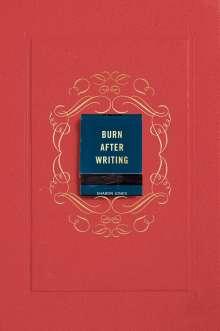 Sharon Jones: Burn After Writing (Coral), Buch