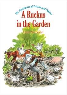 Sven Nordqvist: A Ruckus in the Garden, Buch