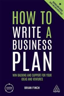 Brian Finch: How to Write a Business Plan, Buch