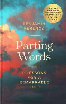 Benjamin Ferencz: Parting Words, Buch