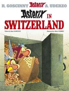 René Goscinny: Asterix 16 in Switzerland, Buch