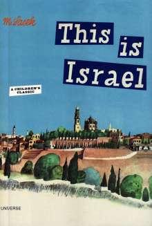 Miroslav Sasek: This Is Israel, Buch