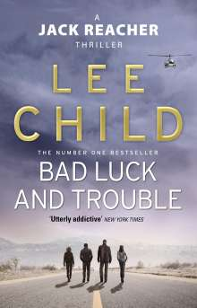Lee Child: Bad Luck And Trouble, Buch