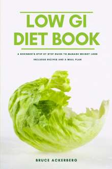 Bruce Ackerberg: The Low GI Diet Book, Buch