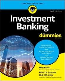 Matthew Krantz: Investment Banking For Dummies, Buch