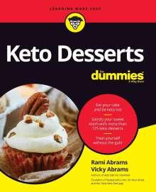 Rami Abrams: Keto Desserts For Dummies, Buch