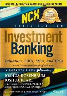 Joshua Rosenbaum: Investment Banking, Buch