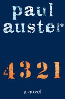 Paul Auster: 4 3 2 1 (4321), Buch
