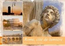 Cécile Gans: Rome, cité de lumière (Calendrier mural 2020 DIN A3 horizontal), Diverse