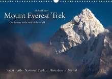 Michael Knüver: Mount Everest Trek (Wall Calendar 2021 DIN A3 Landscape), Kalender
