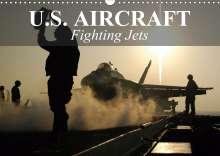 Elisabeth Stanzer: U.S. Aircraft - Fighting Jets (Wall Calendar 2021 DIN A3 Landscape), Kalender
