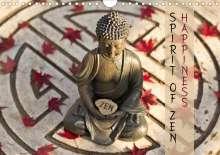 Markus Wuchenauer Pixelrohkost. De: SPIRIT OF ZEN Happiness (Wall Calendar 2021 DIN A4 Landscape), Kalender