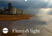 Alain Gaymard: Flemish light (Wall Calendar 2021 DIN A3 Landscape), Kalender