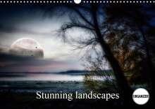 Alain Gaymard: Stunning landscapes (Wall Calendar 2021 DIN A3 Landscape), Kalender