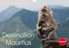 Andreas Schoen: Destination Mauritius (Wall Calendar 2021 DIN A4 Landscape), Kalender