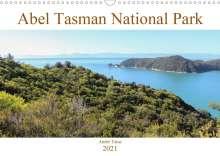André Tams: Abel Tasman National Park (Wall Calendar 2021 DIN A3 Landscape), Kalender