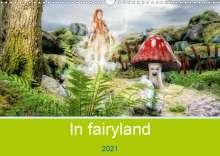 Alain Gaymard: In fairyland (Wall Calendar 2021 DIN A3 Landscape), Kalender