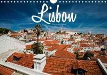 Stefan Becker: Lisbon - Perspectives (Wall Calendar 2021 DIN A4 Landscape), Kalender
