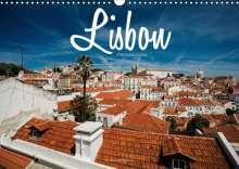 Stefan Becker: Lisbon - Perspectives (Wall Calendar 2021 DIN A3 Landscape), Kalender