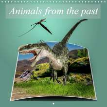 Alain Gaymard: Animals from the past (Wall Calendar 2021 300 × 300 mm Square), Kalender