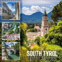 Melanie Viola: SOUTH TYROL Idyllic Merano (Wall Calendar 2021 300 &times 300 mm Square), Kalender