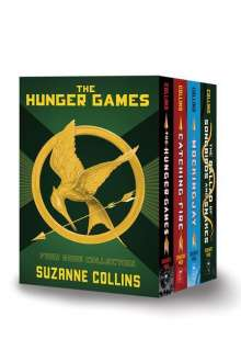 Suzanne Collins: Hunger Games 4-Book Hardcover Box Set, Buch