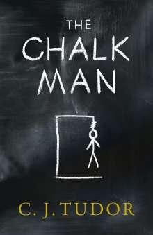 C. J. Tudor: The Chalk Man, Buch