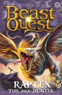 Adam Blade: Beast Quest: Raptex the Sky Hunter, Buch