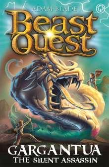 Adam Blade: Beast Quest: Gargantua the Silent Assassin, Buch