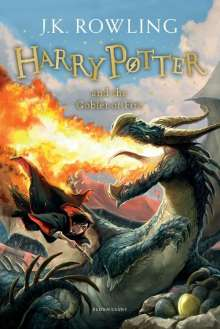 Joanne K. Rowling: Harry Potter 4 and the Goblet of Fire, Buch