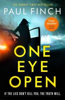Paul Finch: One Eye Open, Buch