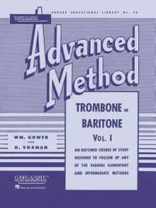 Rubank Advanced Method - Trombone or Baritone, Vol. 1, Buch