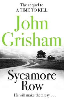 John Grisham: Sycamore Row, Buch