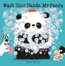 Steve Antony: Wash Your Hands, Mr Panda, Buch
