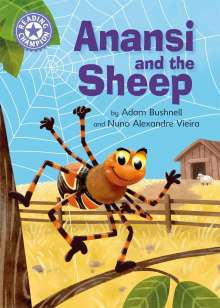 Adam Bushnell: Reading Champion: Anansi and the Sheep, Buch