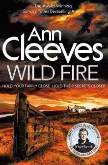 Ann Cleeves: Wild Fire, Buch