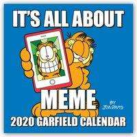 Jim Davis: Garfield 2020 Square Wall Calendar, Diverse