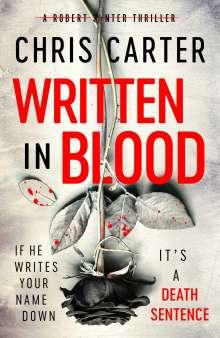Chris Carter: Written in Blood, Buch