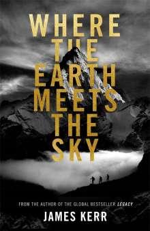 James Kerr: Where the Earth Meets the Sky, Buch