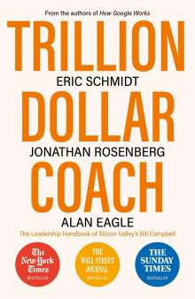 Eric Schmidt: Trillion Dollar Coach, Buch