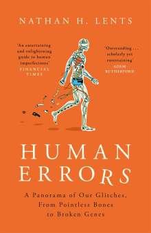 Nathan Lents: Human Errors, Buch