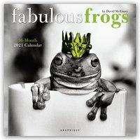 Fabulous Frogs - Fabelhafte Frösche 2021 - 16-Monatskalender, Diverse